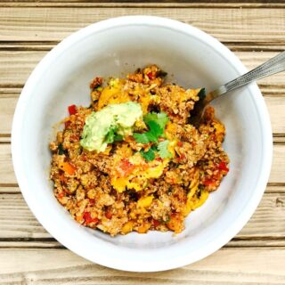 21 Day Fix Quinoa Turkey Taco Bake