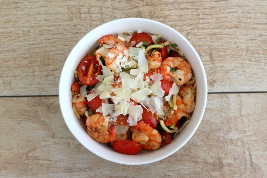 Veggies and Shrimp Bowl