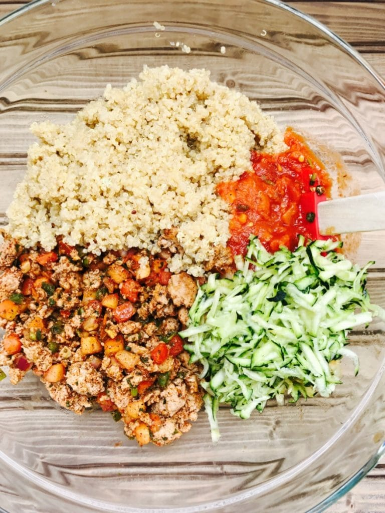 21 Day Fix Quinoa Taco Bake