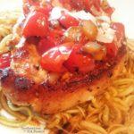 21 Day Fix Italian Pork Chops | Recipe on ConfessionsOfAFitFoodie.com