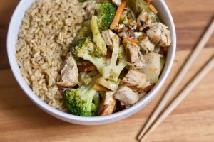 21 Day Fix Chicken and Veggie Stir Fry | Confessions of a Fit Foodie
