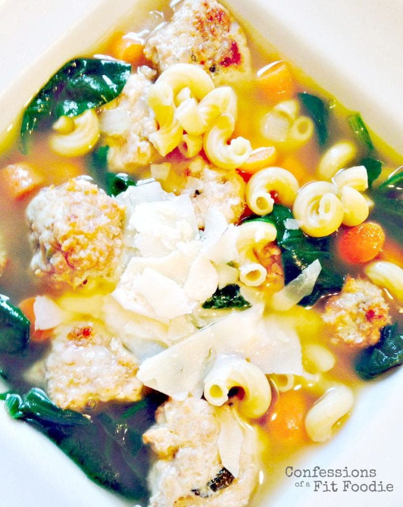 Italian Wedding Soup - a 21 Day Fix Recipe | Confessions of a Fit Foodie