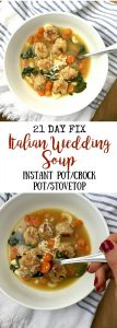 21 Day Fix Italian Wedding Soup | Confessions of a Fit Foodie