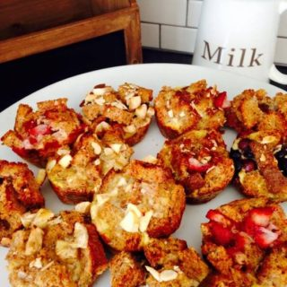 Mini French Toast Casserole Cups {21 Day Fix}