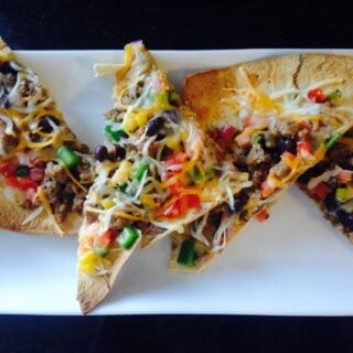 Taco Pizza {21 Day Fix}