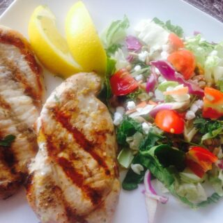 21 Day Fix Grilled Lemon-Herb Pork Chops