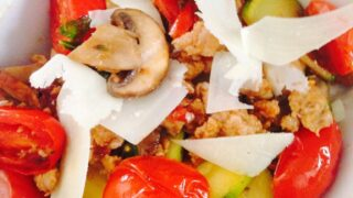 Spicy Sausage and Veggies {21 Day Fix}