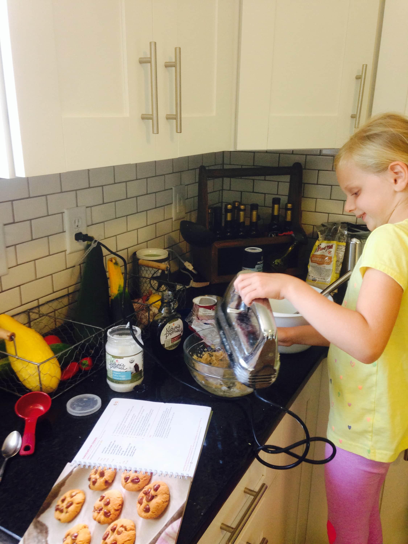 Making Fixate Gluten Free Chocolate Chip Cookies