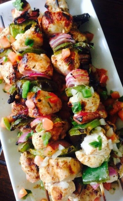 Southwest Chicken Skewers - a 21 Day Fix dinner recipe from Confessions of a Fit Foodie