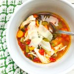 21 Day Fix Easy Chicken and Veggie Soup | Confessions of a Fit Foodie