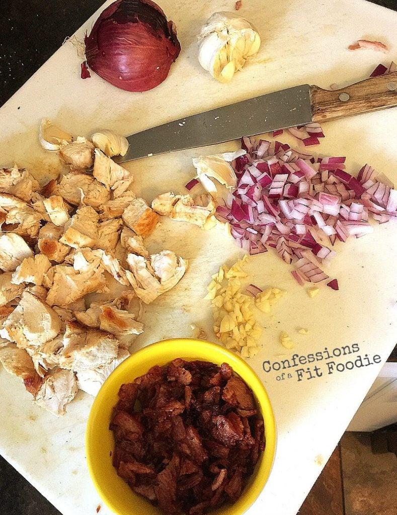 ingredients to make chicken in vodka sauce