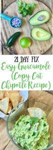 21 Day Fix Guacamole | Confessions of a Fit Foodie