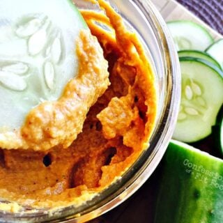 No Bean Pumpkin Hummus {21 Day Fix}