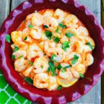 Baked Buffalo Shrimp with Goat Cheese Sauce {21 Day Fix Recipe} - Confessions of a Fit Foodie