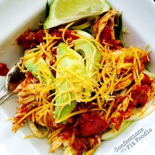 Crock Pot Salsa Lime Chicken {21 Day Fix}