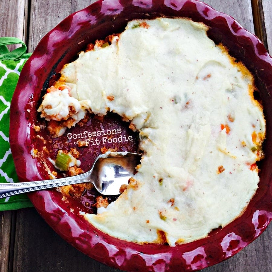 21 Day Fix Dinner: Healthy Shepherd's Pie Recipe - Confessions of a Fit Foodie