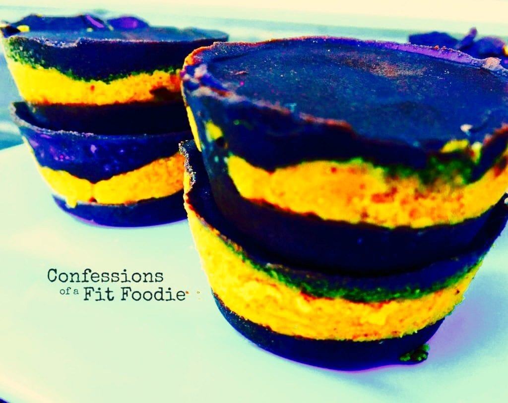 21 Day Fix Chocolate Pumpkin Cups |Confessions of a Fit Foodie