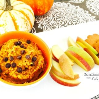 No Bake Pumpkin Cookie Dough Dip {21 Day Fix}
