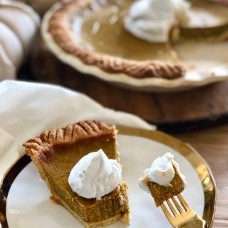 21 Day Fix Pumpkin Pie [Gluten-free | Dairy-free | Refined Sugar Free]