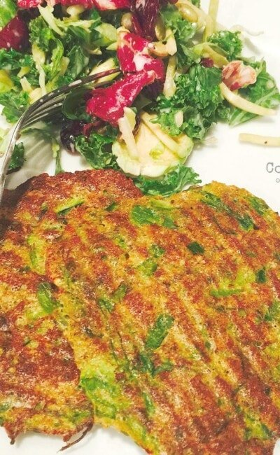 Baked Asparagus Patties - Get the recipe on Confessions of a Fit Foodie