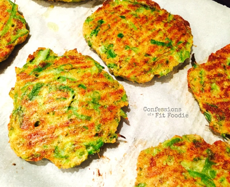 Baked Asparagus Patties