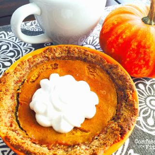 Clean Pumpkin Pie {21 Day Fix}