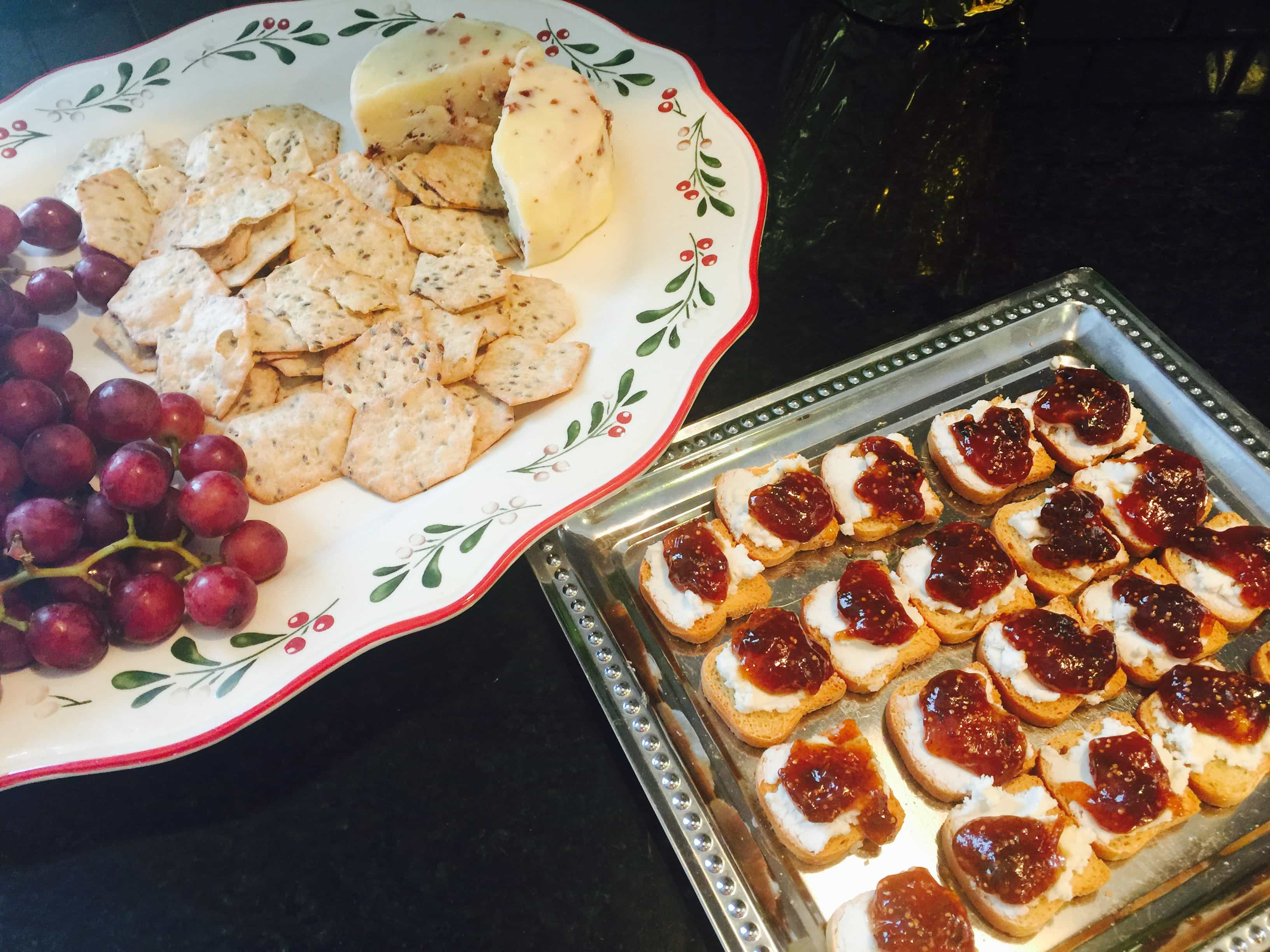 Holiday cheese platter - It's time to make Real Solutions for healthy eating in 2016
