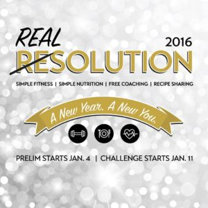 Real Solutions for 2016 - A new way of healthy eating. Join the challenge!