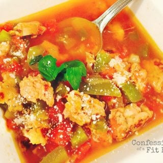 21 Day Fix Stuffed Pepper Soup | Confessions of a Fit Foodie