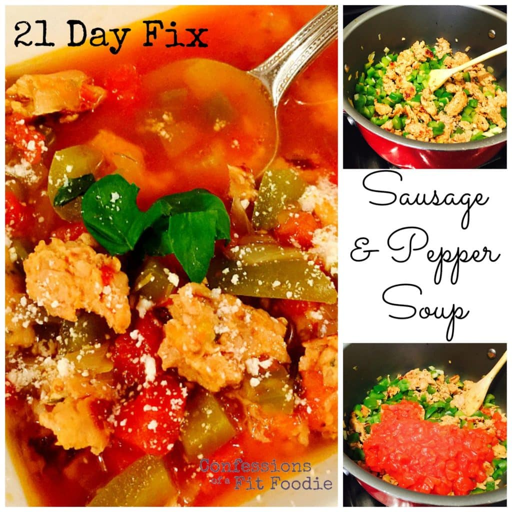 Sausage and Pepper Soup Pin
