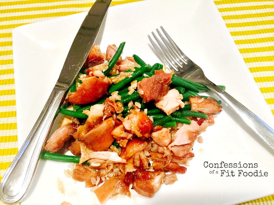 21 day fix honey Asian chicken