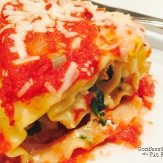 21 Day Fix Spinach and Sausage Lasagna Roll Ups