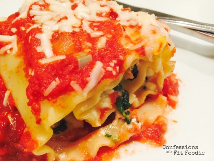 Lasagna Roll Ups with Spinach and Sausage [21 Day Fix | WW]