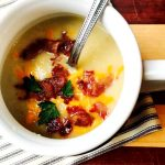 21 Day Fix Loaded Potato Cauliflower Soup| Confessions of a Fit Foodie
