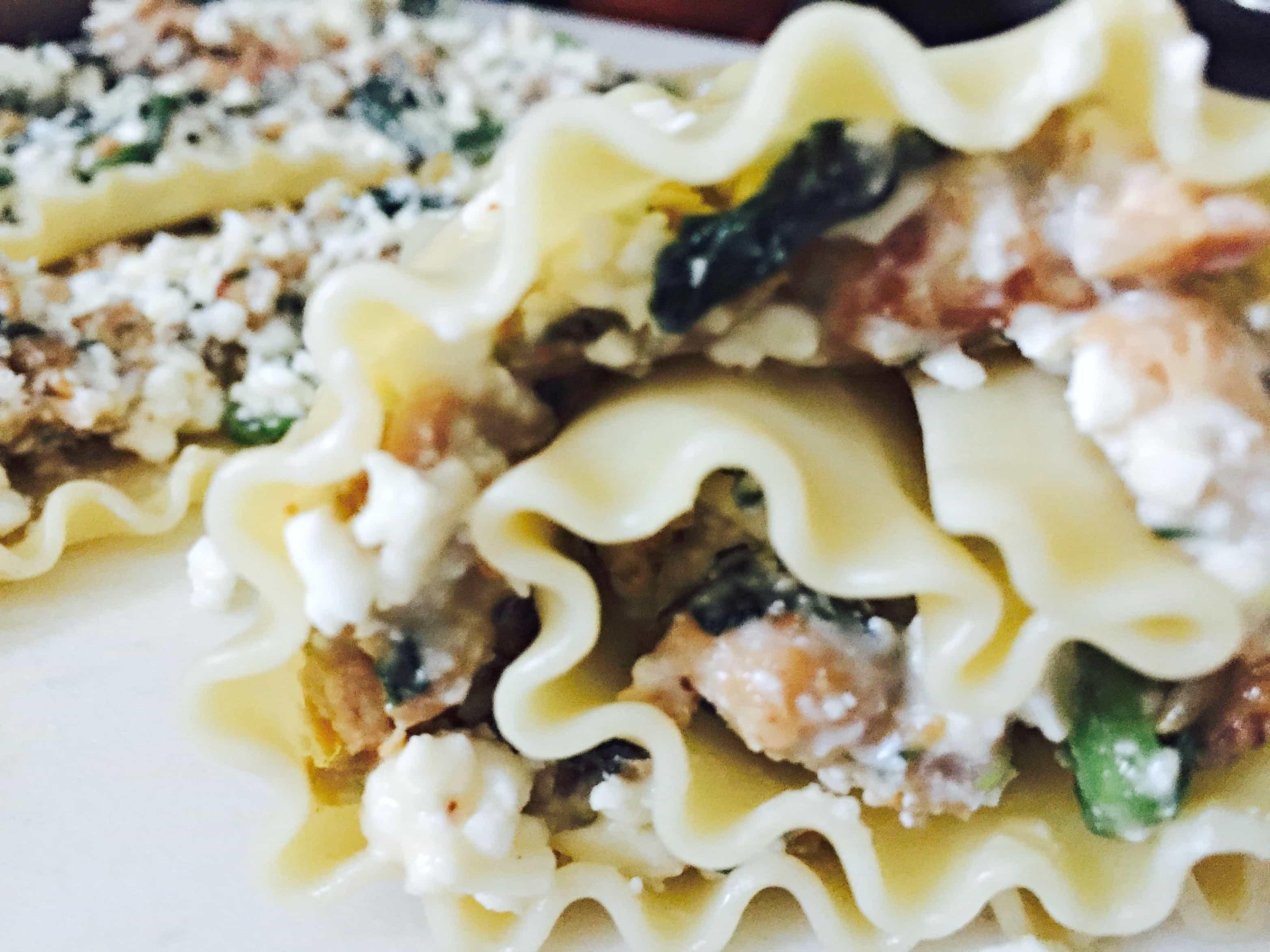 Spinach Lasagna Roll Up2