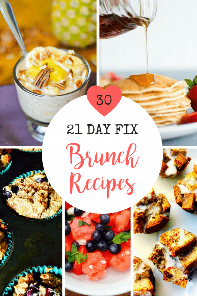 30 21 Day Fix Brunch Recipes | Confessions of a Fit Foodie
