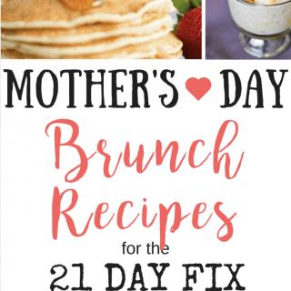 21 Day Fix Brunch Recipes