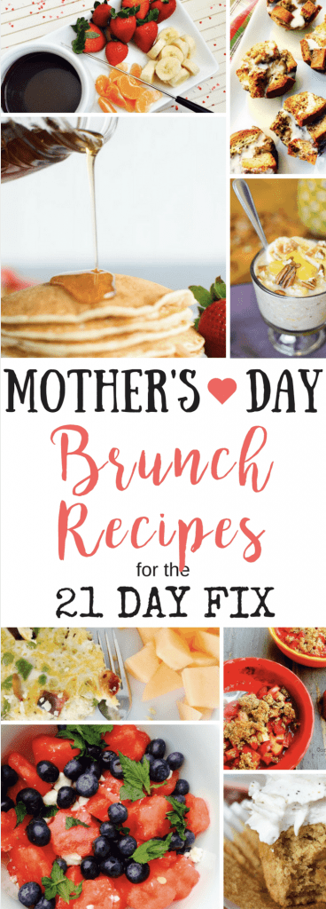 21 Day Fix Brunch Recipes