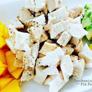 21 Day Fix Avocado, Mango and Quinoa Salad