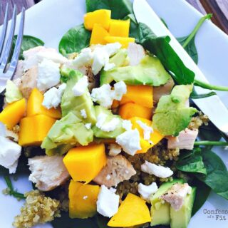 21 Day Fix Avocado, Mango and Quinoa Salad