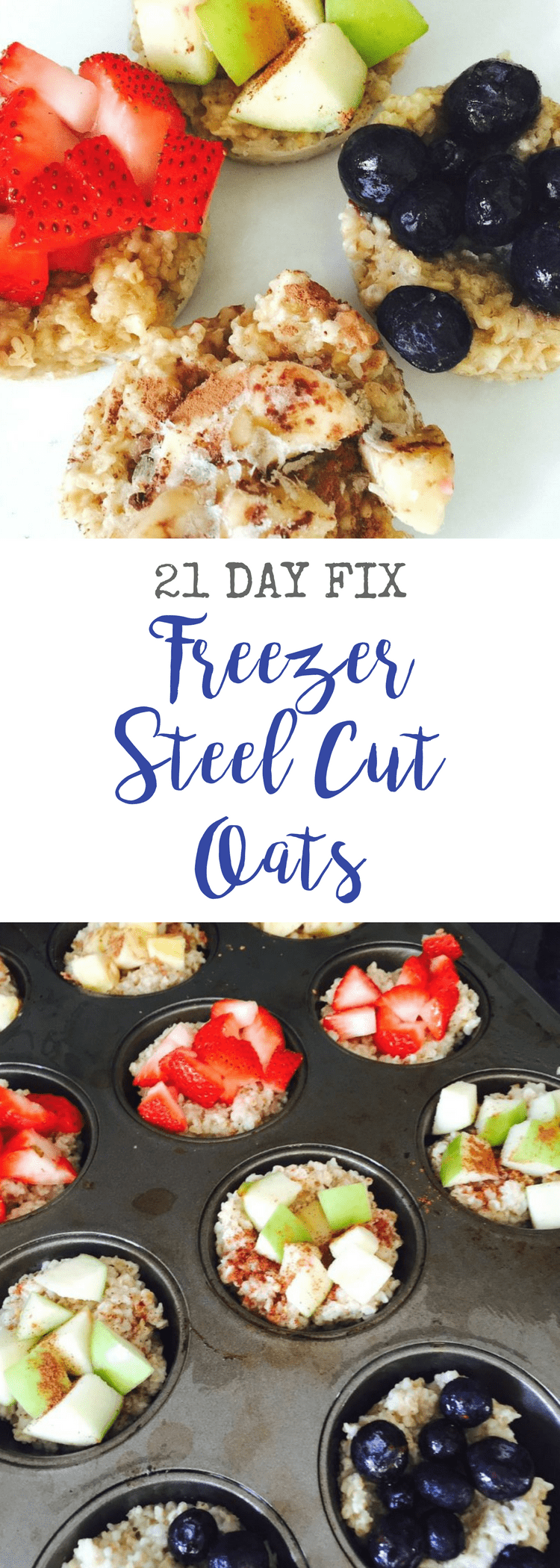 Freezer Steel Cut Oats | Confessions of a Fit Foodie