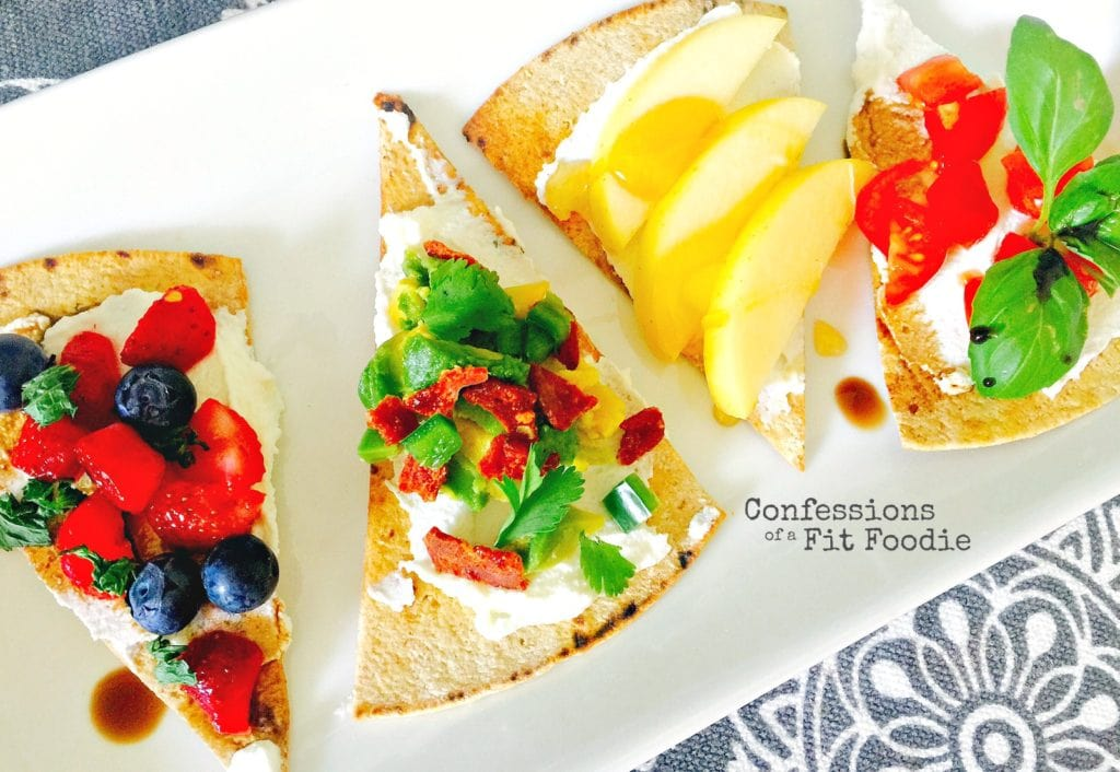 21 Day Fix Mix and Match Ricotta Bruchetta