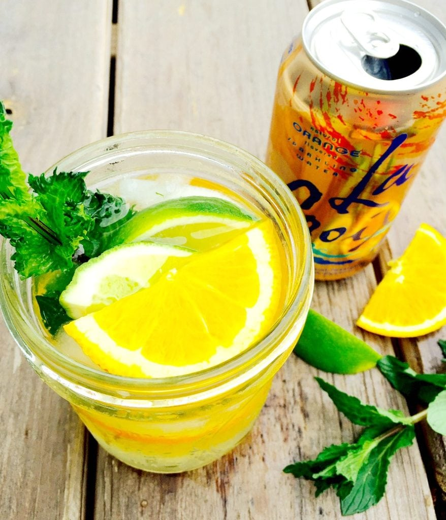 Orange La Croix Mojito