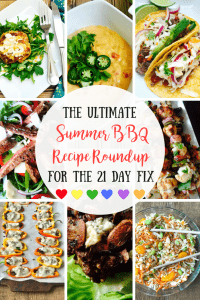 21 Day Fix Summer BBQ Recipes   Confessions of a Fit Foodie Need a recipe for a Summer BBQ or Picnic? Here's a list of my go-to apps, salads, mains, and treats for fun days and warm nights on the FIX!