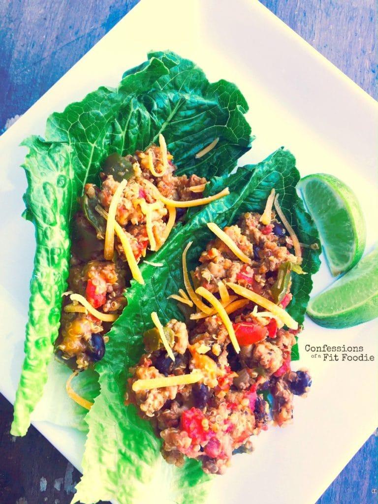 quinoa taco crock pot casserole
