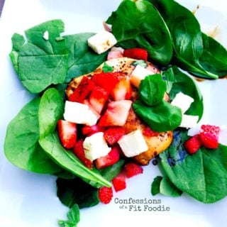 21 Day Fix Strawberry Caprese Salad