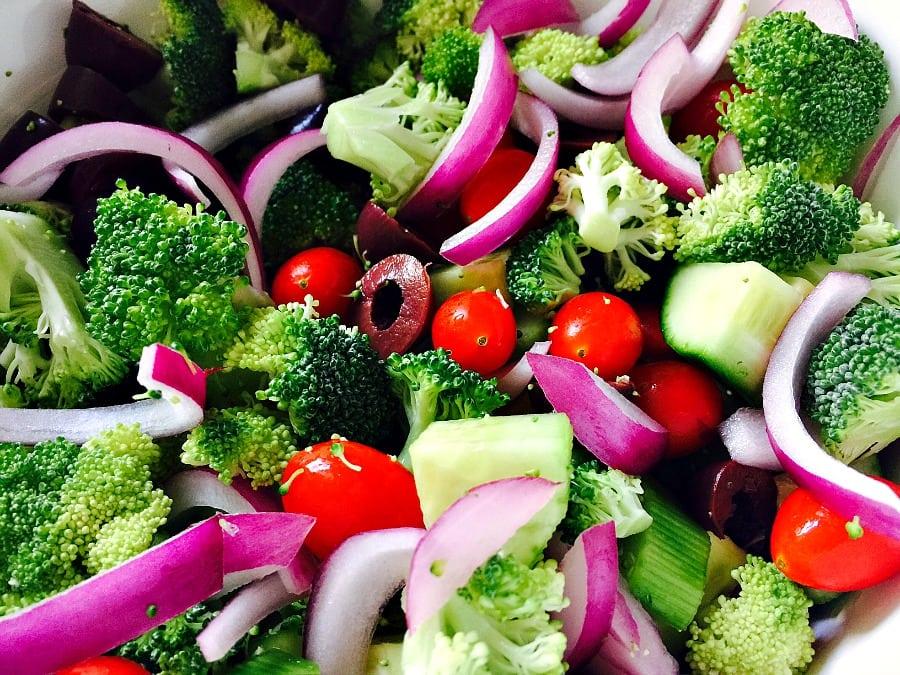 veggies for pasta salad