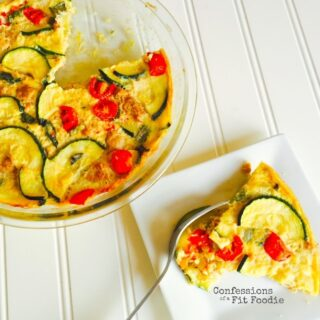 21 Day Fix Sausage and Zucchini Quiche {Dairy-free and Gluten-free}