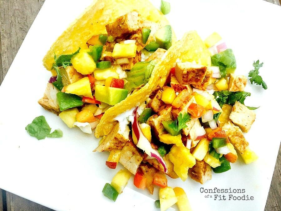 21 Day Fix Grilled Pork Tacos