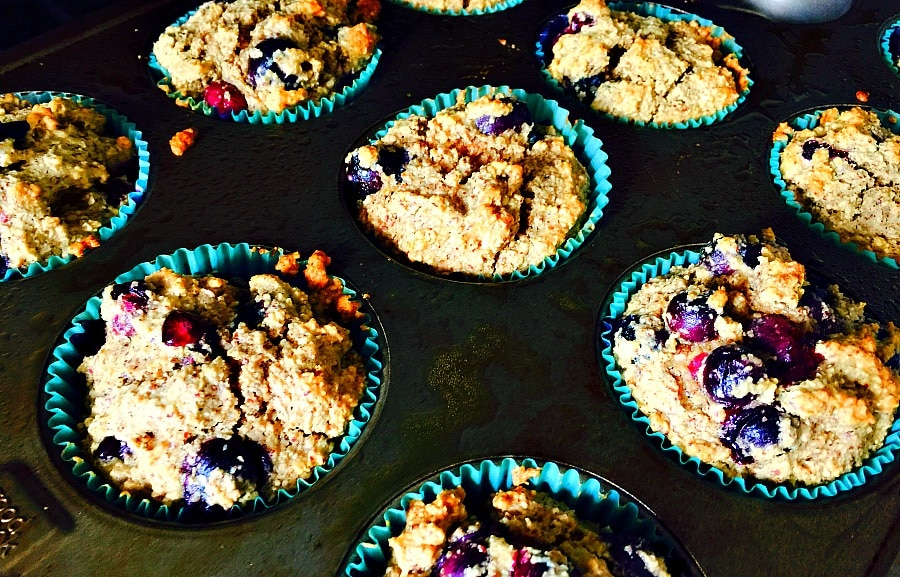 Blueberry Muffins for the 21 Day Fix